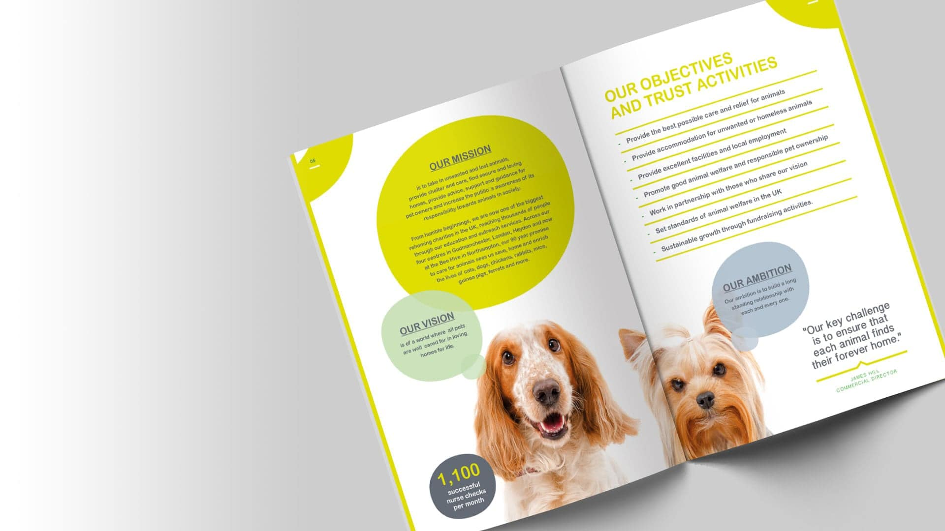 Polkadot Agency annual report designers - A Website Design Agency based in Yeovil, Somerset, UK - Yeovil Web Design, Somerset Web Design