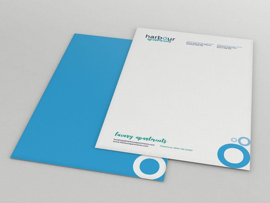 letterhead design and branding experts Polkadot Agency, Yeovil, Somerset, UK