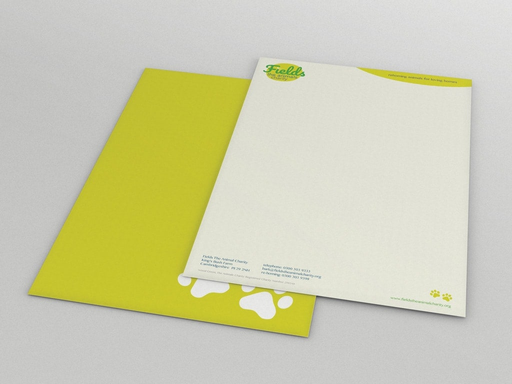 letterhead design - Branding experts in yeovil, somerset - Polkadot Agency, Yeovil, Somerset, UK