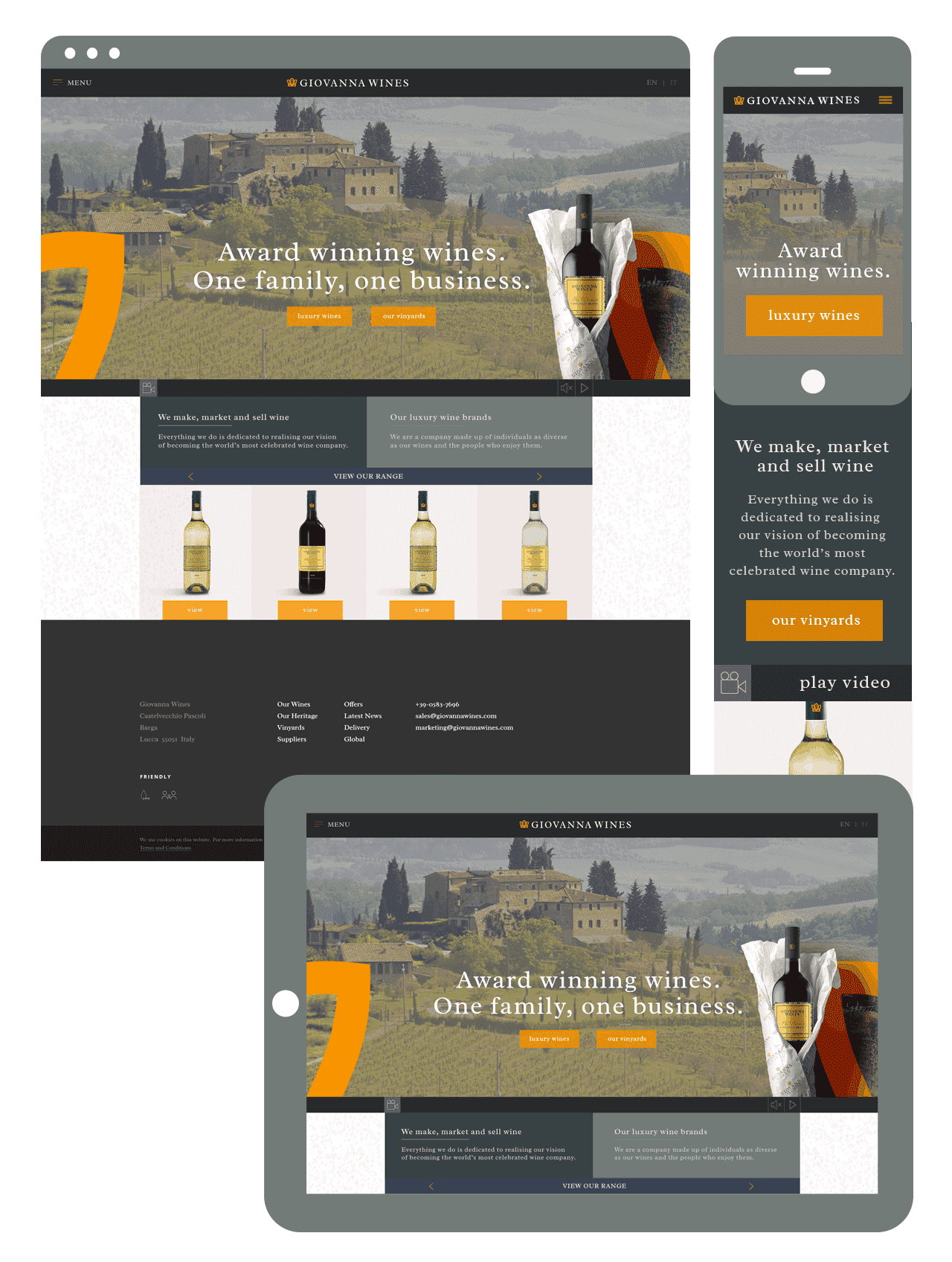 Polkadot Agency Branding, Logo Design, Brochure Design, and Website Design Portfolio - A Website Design Agency based in Yeovil, Somerset, UK - Yeovil Web Design, Somerset Web Design