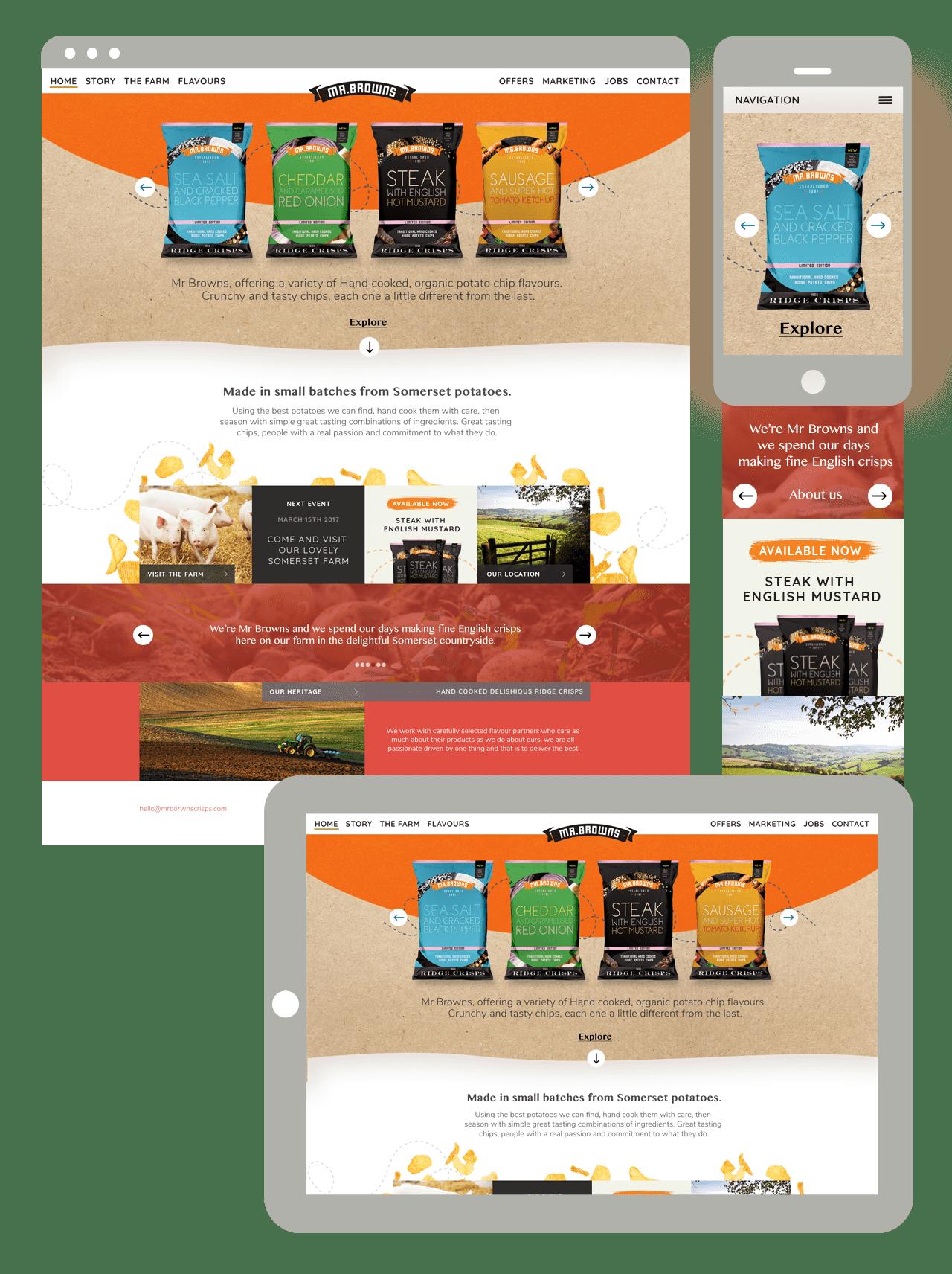 website design services and ecommerce website design services by web agency Polkadot Agency based in Yeovil, Somerset UK